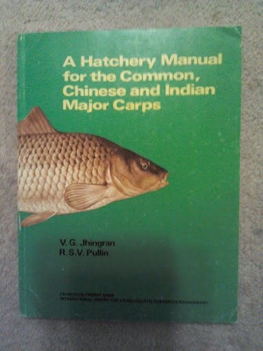 9789711022174: A Hatchery Manual for the Common, Chinese and Indian Major Carps (Iclarm Studies and Reviews 11)