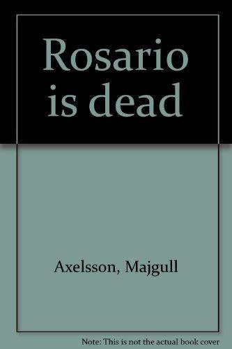 9789712706004: Rosario is dead