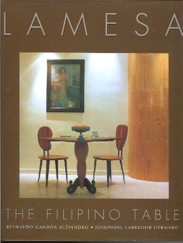 9789712708763: Lamesa: The Filipino table