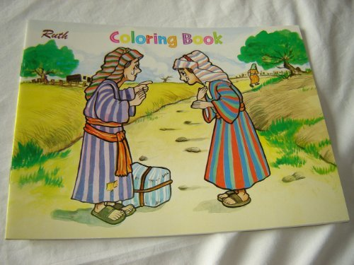 9789712905582: RUTH / English - Tagalog Bilingual Bible Story Coloring Book / For Pilipino Children