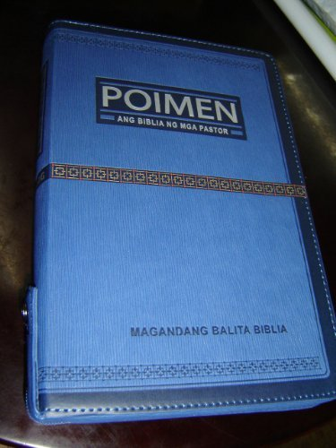 9789712907739: Tagalog Pastor's Bible / Study Bible for Pastors in Tagalog Language, Leather Bound, Zipper, Golden Edges / POIMEN Ang Biblia NG Mga Pastor / Magadang Balita Biblia