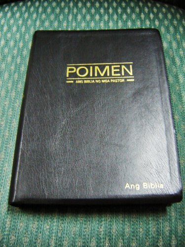9789712909252: A Bible for Ministers in Tagalog / Large Leather Study Bible with Golden Edges / Poimen Ang Biblia Ng Mga Pastor / Magandang Balita Biblia / Revised Poimen 054 PBS 2008-1 / Philippine Phillippines Sheperds Bible / Resources