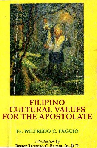 Filipino Cultural Values for the APostolate: Utililzation: Wilfredo C. Paguio