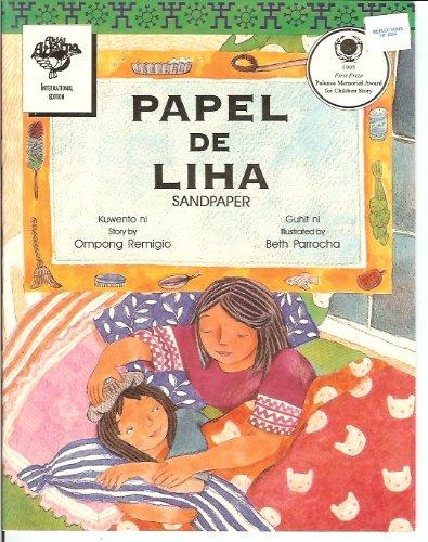 Papel De Liha (Sandpaper) - Philippine Book: Ompong Remigio