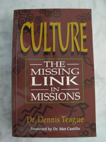 9789715112611: Culture the Missing Link In Missions
