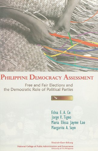 9789715350297: Philippine Democracy Assessment: Free and Fair Elections and the Democratic Role of Political Parties