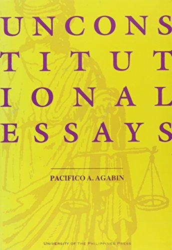 9789715420778: Unconstitutional Essays
