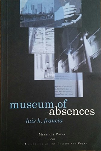 9789715424158: Museum of Absences (Philippine Writers)