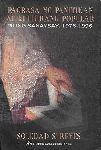Pagbasa ng panitikan at kulturang popular: Piling sanaysay, 1976-1996: Reyes, Soledad S