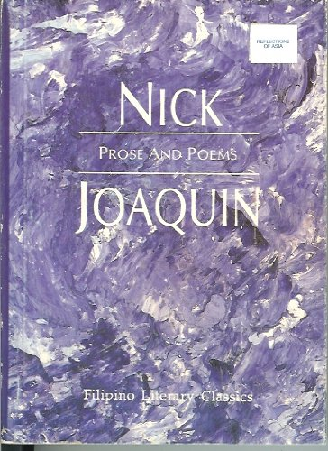 Prose and Poems (9789715690164) by Nick Joaquin