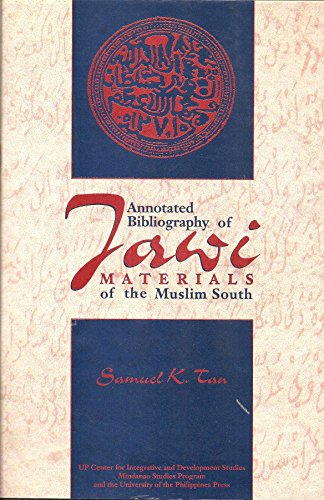 9789717420042: Annotated bibliography of Jawi materials of the Muslim south