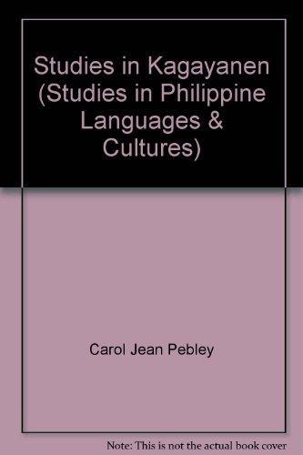 Studies in Kagayanen: Carol Jean Pebley, Louise MacGregor