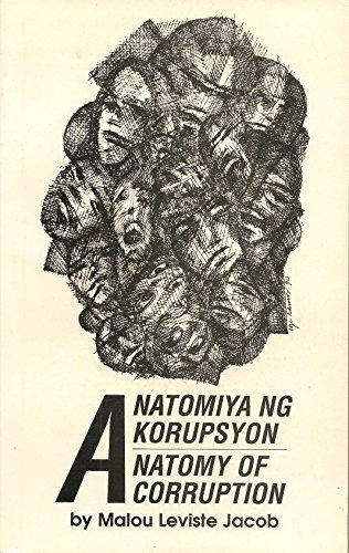 9789718605066: Anatomiya ng korupsyon