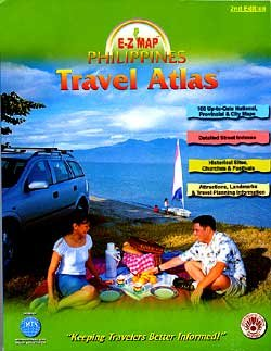 E-Z map Philippines road atlas & stopover guide: United Tourist Promotions (Firm)