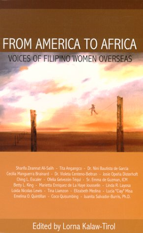 9789719219507: FROM AMERICA TO AFRICA, Voices of Filipino Women Overseas