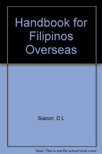 9789719230847: Handbook for Filipinos Overseas