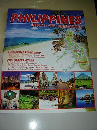9789719241539: Philippines Road & City Hand Book / Philippine Road Map - City Street Atlas