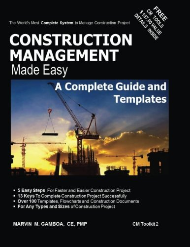 9789719590118: Construction Management Made Easy : A Complete Guide and Templates