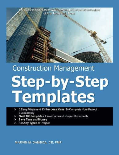 9789719590187: Construction Management Step-by-Step Templates