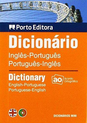 9789720015624: Dicionario Mini De Ingles-Portugues / Portugues-Ingles