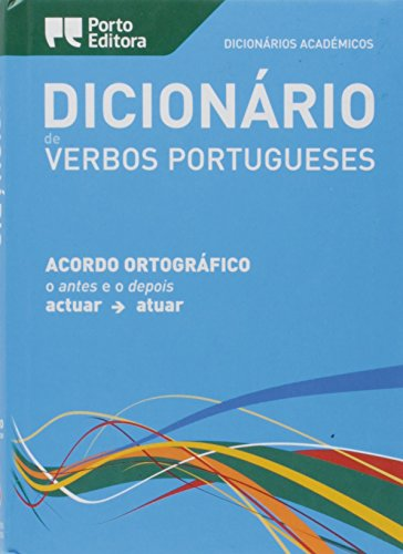 9789720051028: Dicionario Academico de Verbos Portugueses