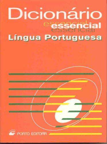 9789720052506: Dicionario Essencial Lingua Portuguesa