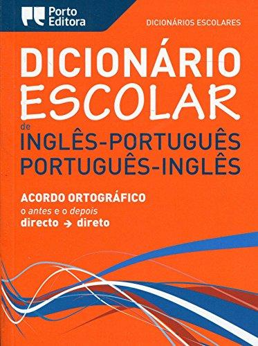 English-Portuguese Portuguese-English School Dictionary (Paperback): Escolares