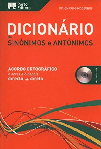 9789720057549: Dicionário Moderno de Sinónimos e Antónimos Acordo Ortográfico (Portuguese Edition) Hardcover