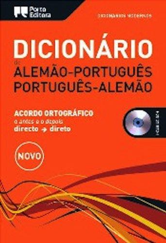 9789720057587: Dicionário Moderno de Alemão-Português / Português-Alemão. Woertuerbuch deutsch portugiesisch (German Edition)