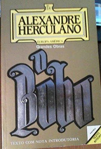 O Bobo. Texto com nota introdutória: Herculano, Alexandre