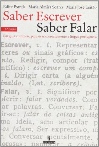 9789722025348: Saber Escrever Saber Falar