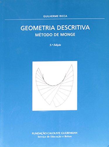 9789723105476: Geometria Descritiva