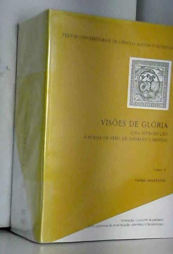 Visoes de gloria: Uma introducao a poesia: Anastacio, Vanda