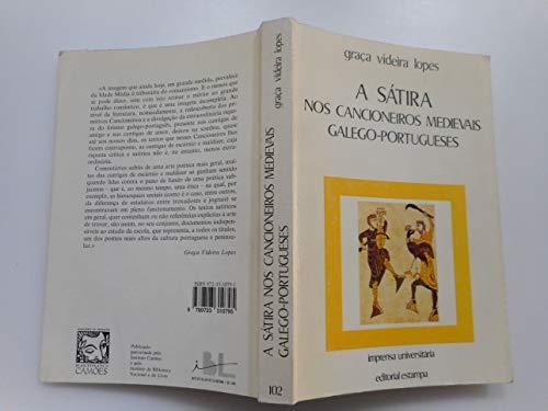 9789723310795: A sátira nos cancioneiros medievais galego-portugueses (Imprensa universitária) (Portuguese Edition)
