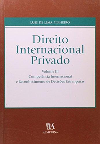 9789724017914: Direito Internacional Privado - Volume 3 (Em Portuguese do Brasil)
