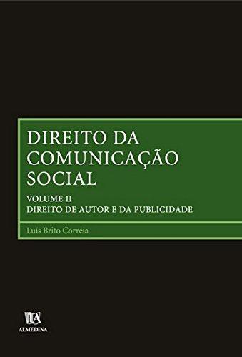 9789724023236: Direito da Comunicacao Social: Direito de Autor e da Publicidade