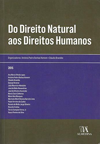 9789724058696: Direito Natural aos Direitos Humanos, Do