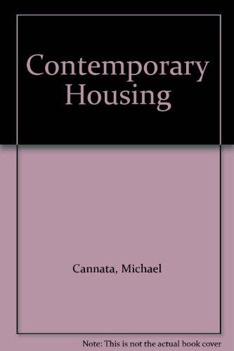 Contemporary Housing (Paperback): Michael Cannata, Fatima Fernandes