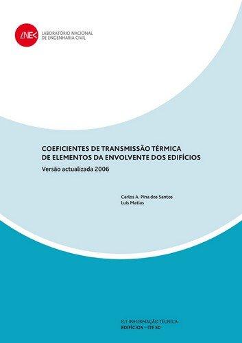 9789724920658: Coeficientes de transmissão térmica de elementos da envolvente dos edifícios
