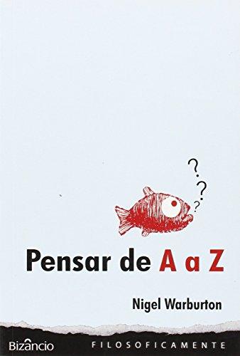 9789725305133: Pensar de a A Z