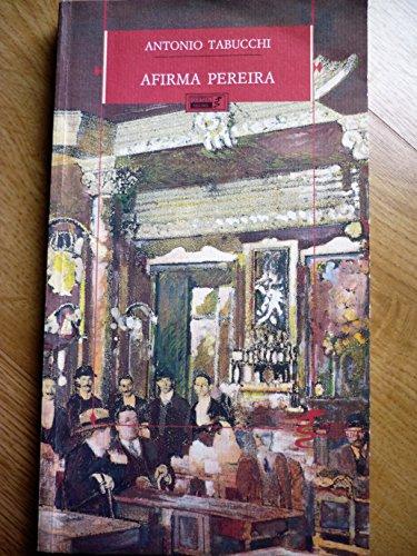 9789725641866: Afirma Pereira(Um Testemunho)