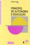 PRINCIPIO DE AUTONOMIA E EDUCACAO: VAYER, PIERRE