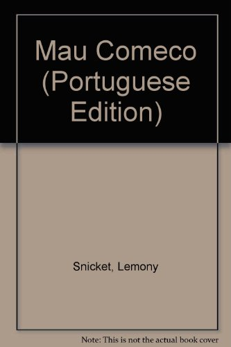 9789727103041: Mau Comeco (Portuguese Edition)