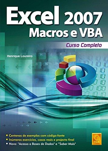 9789727226092: Excel 2007 Macros & VBA. Curso Completo (Em Portuguese do Brasil)