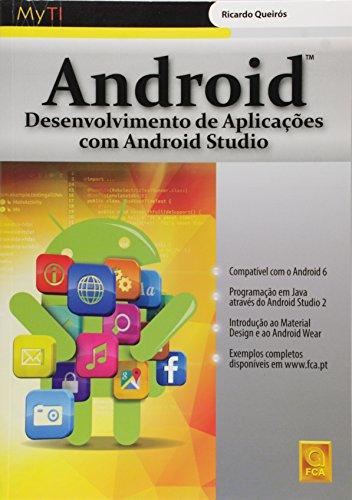9789727228195: Android. Desenvolvimento de Aplicações com Android Studio (Em Portuguese do Brasil)