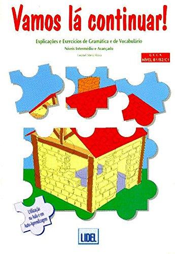 9789727570331: Vamos la continuar! : Explicaçoes e exercicios de gramatica e de vocabulario niveis intermedio e avancado