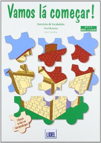 9789727571864: Vamos La Comecar: Vocabulario (Portuguese Edition)