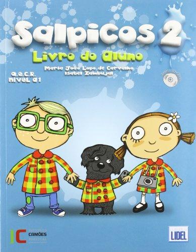 9789727575992: Salpicos - Portuguese Course for Children: Pack Livro Do Aluno + CD + Livro De Atividades 2