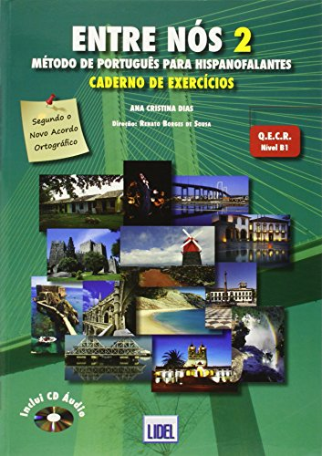 9789727576166: Entre Nos - Metodo de Portugues para hispanofalantes: Caderno de exercic