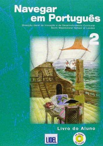9789727576357: Navegar Portugues 2. ( Al + CD +Ej)